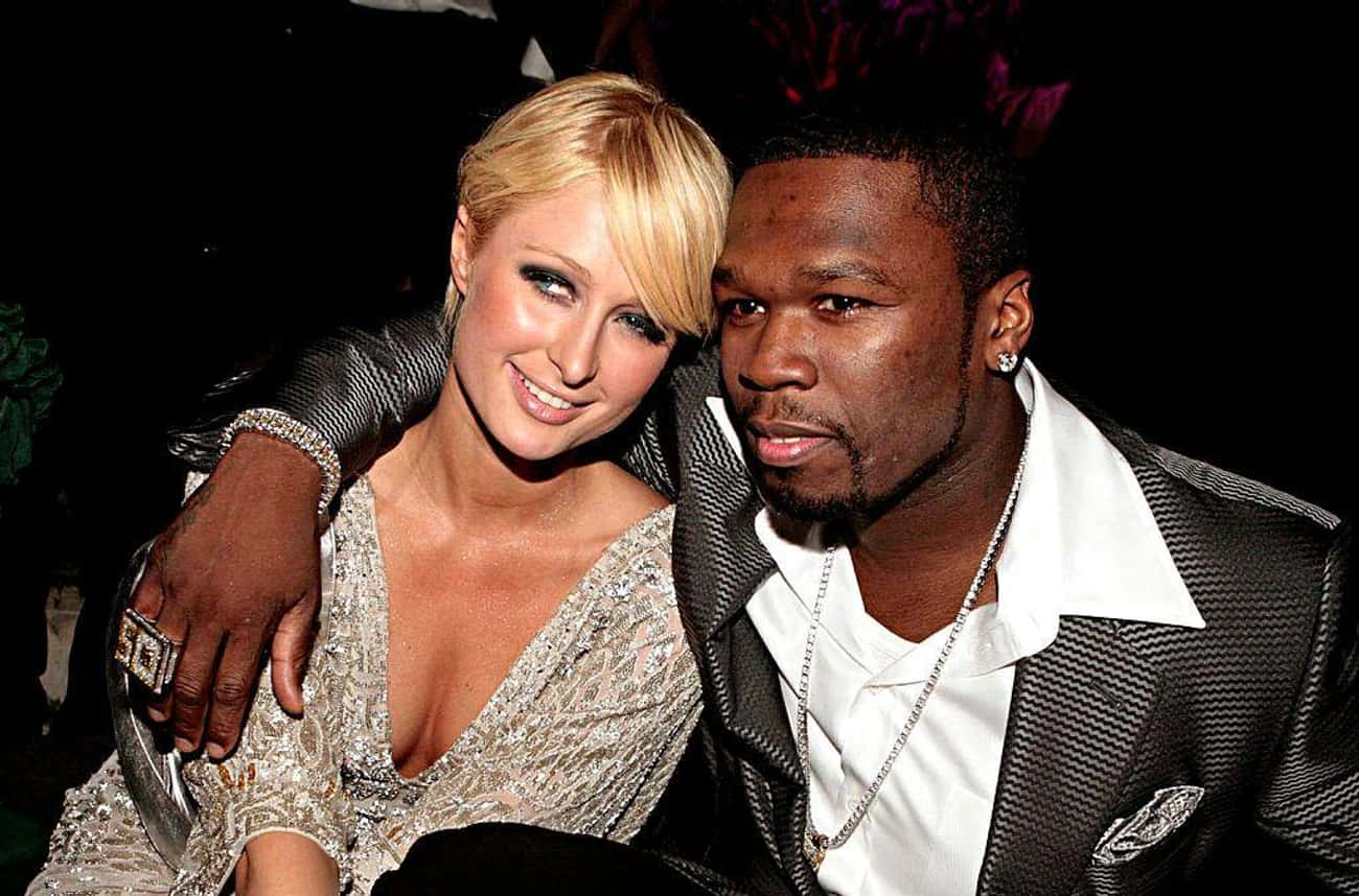 Paris Hilton is listed (or ranked) 4 on the list Women Who 50 Cent Has Dated