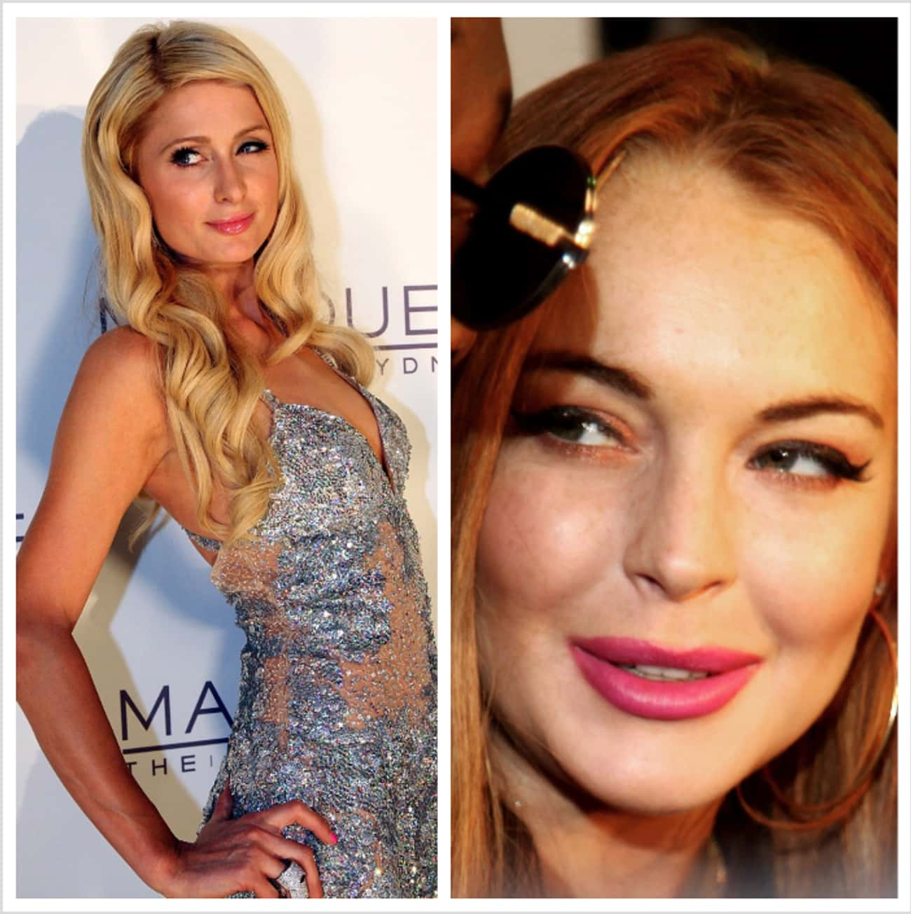 Paris Hilton & Lindsay Lohan is listed (or ranked) 1 on the list Celebrities Who Broke Up with Their BFFs