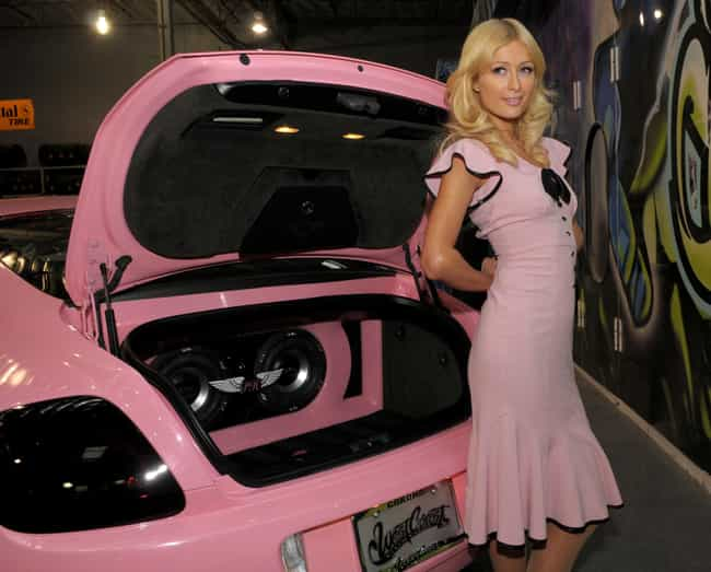 Paris Hilton is listed (or ranked) 3 on the list 50+ Famous People Who Own Bentleys