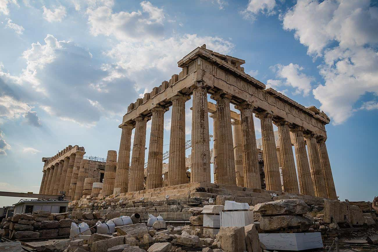 The Parthenon Blew Up While Be is listed (or ranked) 1 on the list How Famous Monuments Got Ruined