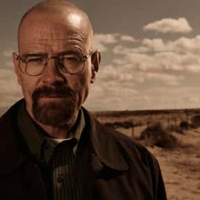 Walter White is listed (or ranked) 1 on the list The Greatest Rebels In TV History