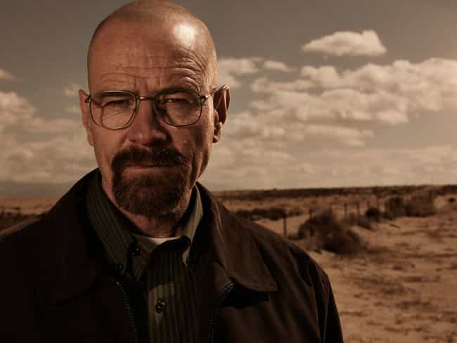 Walter White is listed (or ranked) 2 on the list What Your Favorite Fictional Characters Say About You, According To Science