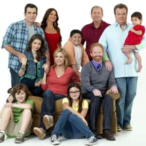 Modern Family is listed (or ranked) 9 on the list The Greatest Sitcoms in Television History