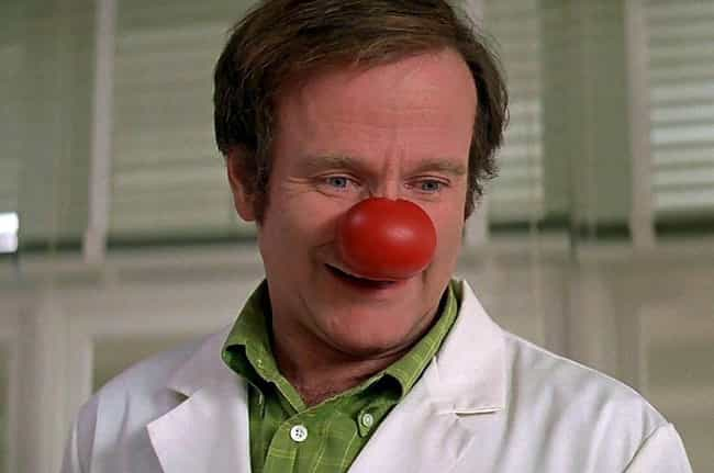 Patch Adams is listed (or ranked) 4 on the list The Most Baffling And Unexpected Moments From The Golden Globes