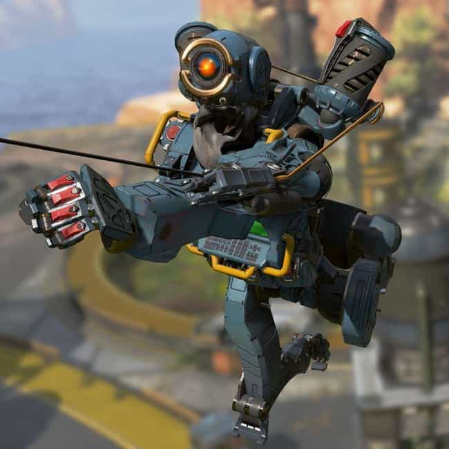 Pathfinder is listed (or ranked) 3 on the list All The Legends In 'Apex Legends,' Ranked