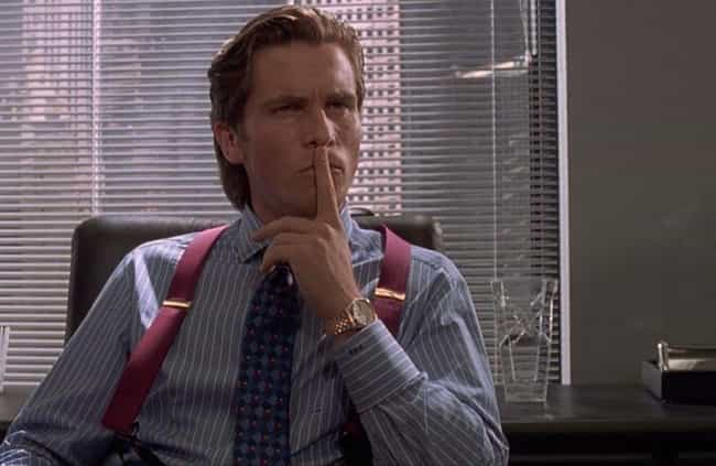Patrick Bateman is listed (or ranked) 4 on the list The Smartest Villains From Across The Horror Genre