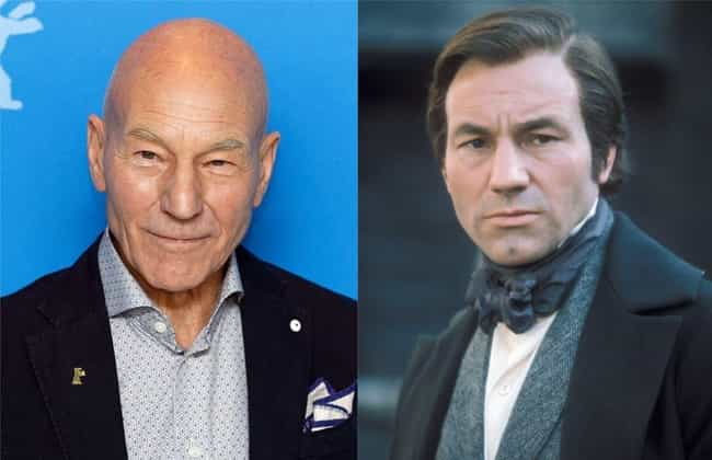Patrick Stewart is listed (or ranked) 3 on the list What Bald Celebrities Would Look Like If They Had A Full Head Of Hair