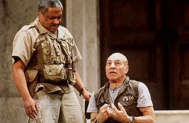 Patrick Stewart is listed (or ranked) 4 on the list 30 Actors Who Have Played Othello