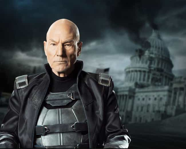 Patrick Stewart is listed (or ranked) 8 on the list The Best Marvel Superhero Movie Actors