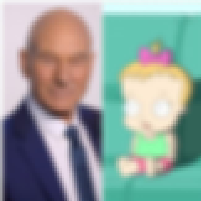 Patrick Stewart is listed (or ranked) 3 on the list 18 Voice Actors Who Look Nothing Like Their Characters