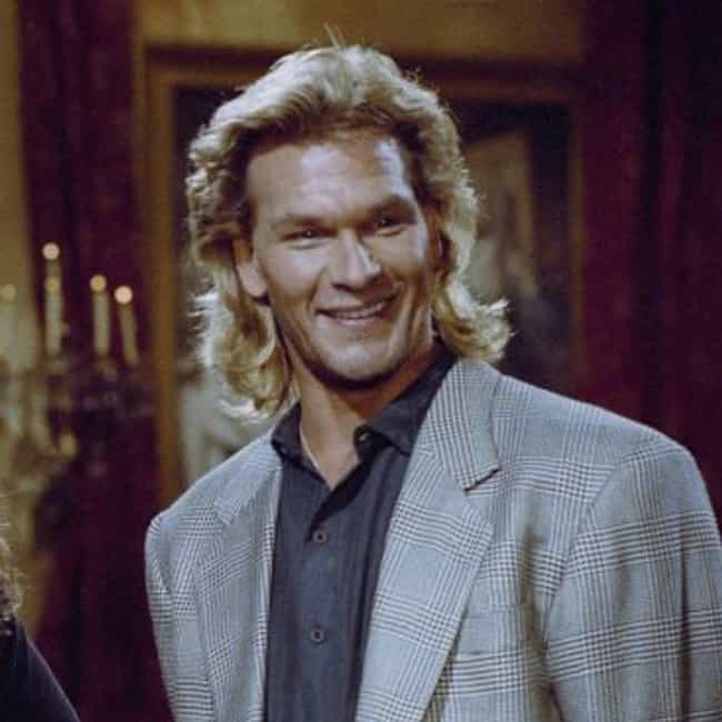 Patrick Swayze is listed (or ranked) 1 on the list The Most Epic Celebrity Mullets Ever. Ever.