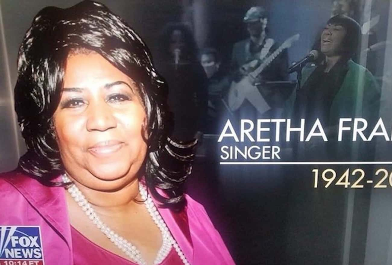 Fox News Used A Photo Of Patti LaBelle In Their Aretha Franklin Tribute