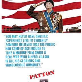 Patton is listed (or ranked) 3 on the list The Best Military Movies Ever Made