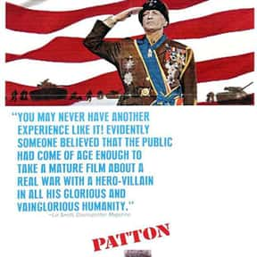 Patton is listed (or ranked) 12 on the list The Best Historical Drama Movies Of All Time, Ranked
