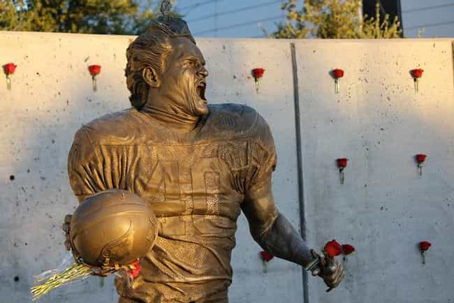 Pat Tillman is listed (or ranked) 1 on the list Athletes Who Are Military Heroes