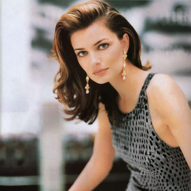 Paulina Porizkova is listed (or ranked) 9 on the list The Most Captivating Celebrity Eyes (Women)