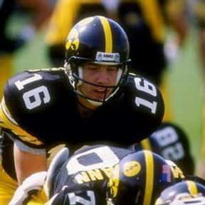 Paul Burmeister is listed (or ranked) 18 on the list The Best Iowa Hawkeyes Quarterbacks of All Time
