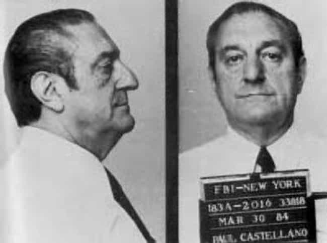 Paul Castellano is listed (or ranked) 6 on the list Mob Hits You Shouldn't Google