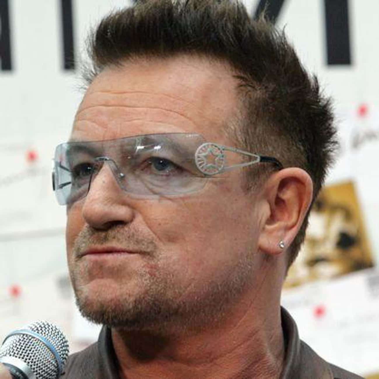 Bono is listed (or ranked) 1 on the list Famous Friends of Kurt Cobain