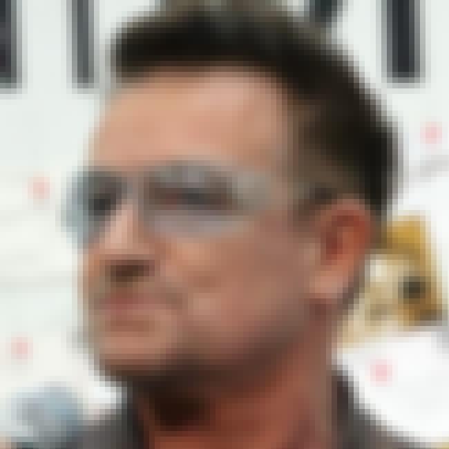 Bono is listed (or ranked) 2 on the list 10 Celebrities Who Survived Plane Crashes