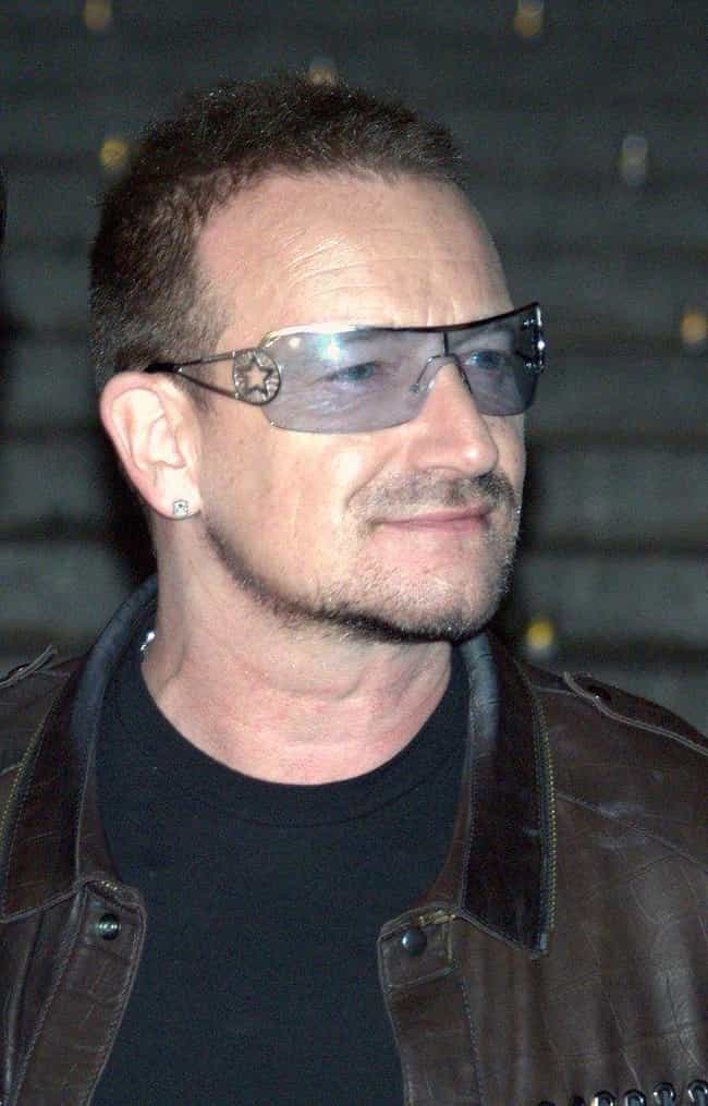 Bono is listed (or ranked) 2 on the list Celebrities Who Survived Plane Crashes