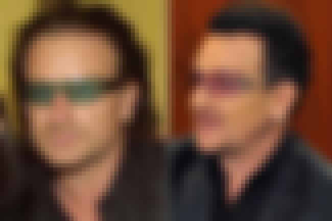 Bono is listed (or ranked) 4 on the list 20 Celebrities Who Have Had Hair Transplants