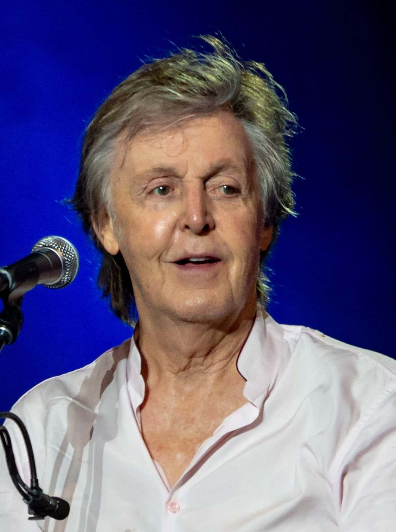 Paul McCartney is listed (or ranked) 3 on the list 19 Musicians Who Have Written Children's Books