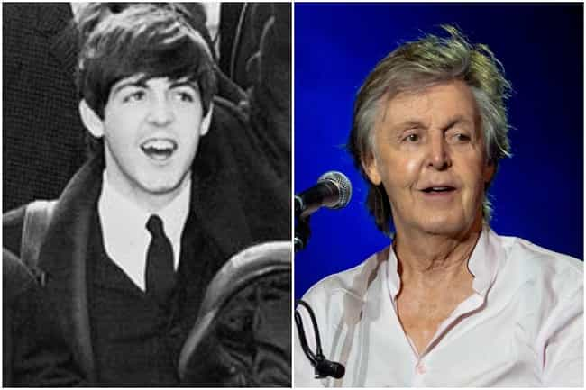 Paul McCartney is listed (or ranked) 4 on the list What Famous Singers Looked Like At The Beginning And The End Of Their Careers
