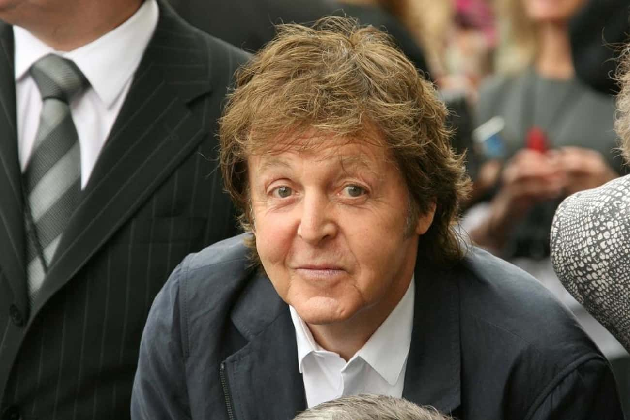 Paul McCartney is listed (or ranked) 4 on the list 51 Famous ISFPs