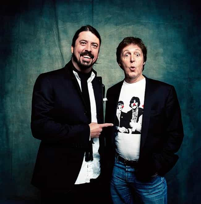 Paul McCartney is listed (or ranked) 2 on the list Famous Friends of Dave Grohl