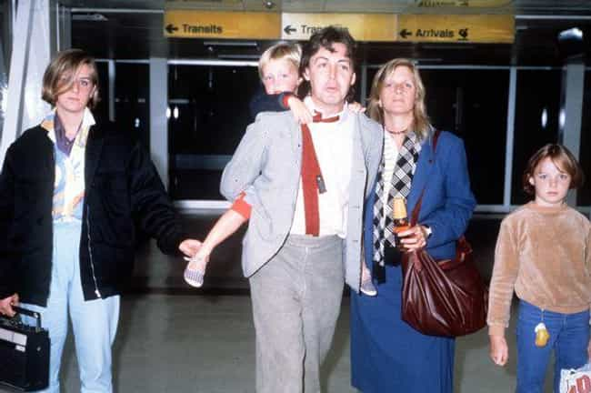 Paul McCartney is listed (or ranked) 5 on the list 17 Celebrities with Kids Born Decades Apart