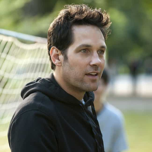 Paul Rudd is listed (or ranked) 4 on the list Celebrity Men Who Are Way Older Than You Think