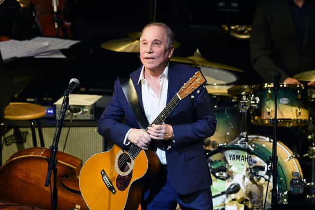 Paul Simon is listed (or ranked) 3 on the list Famous Male Percussionists