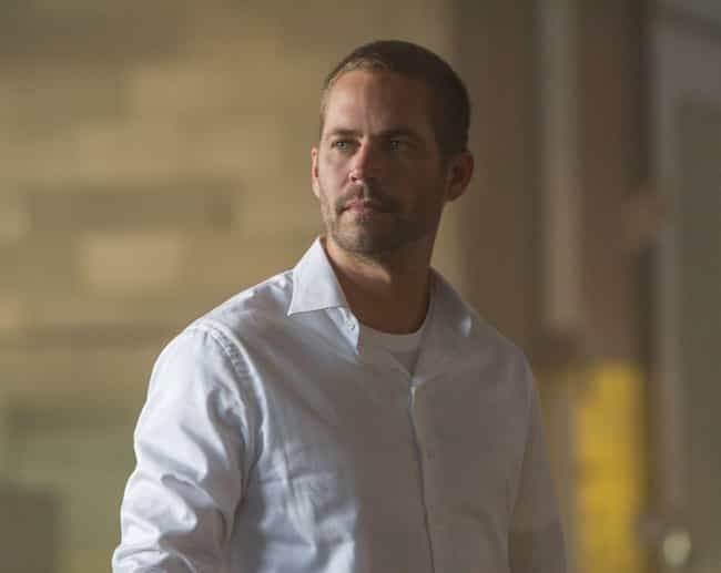 Paul Walker is listed (or ranked) 4 on the list Actors Who Died In The Middle Of Filming Something