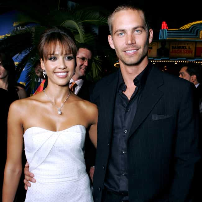 Paul Walker is listed (or ranked) 4 on the list Men Who Jessica Alba Has Dated