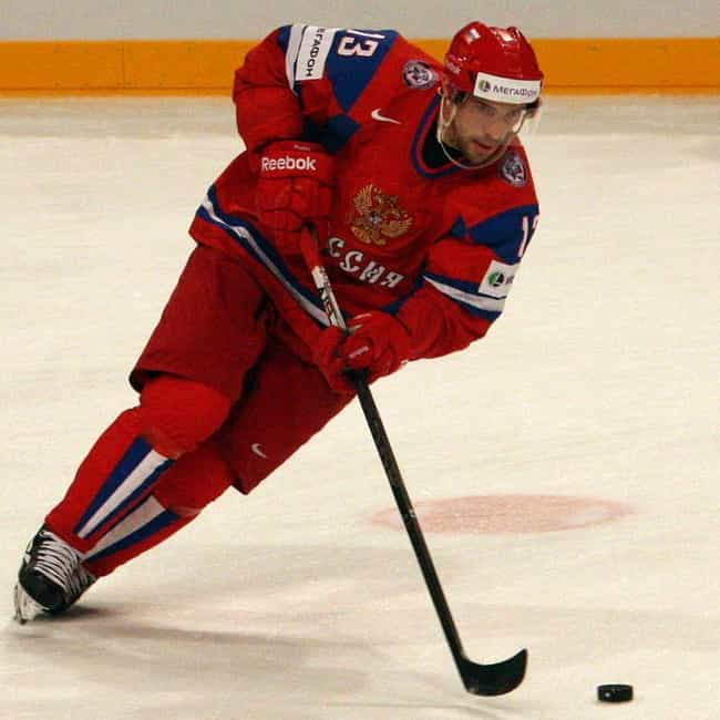 Pavel Datsyuk is listed (or ranked) 4 on the list The Best Athletes Who Wore #13