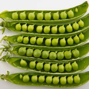 Pea is listed (or ranked) 6 on the list The Vegetables Nobody Wants to Eat