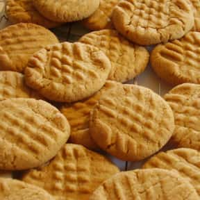 Peanut Butter Cookie is listed (or ranked) 5 on the list The Very Best Types of Cookies, Ranked