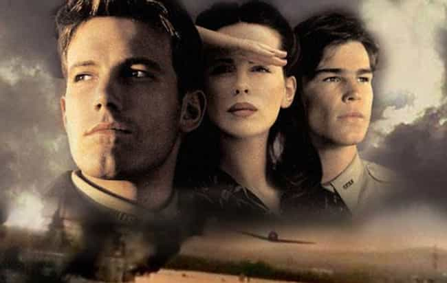 Pearl Harbor is listed (or ranked) 3 on the list The Most Unforgettable Movie Love Triangles