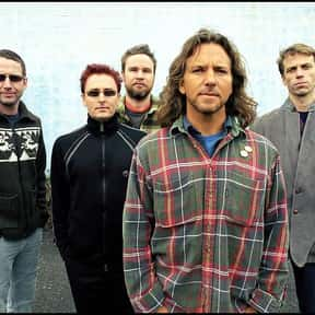 Pearl Jam is listed (or ranked) 7 on the list The Greatest Musical Artists of the '90s
