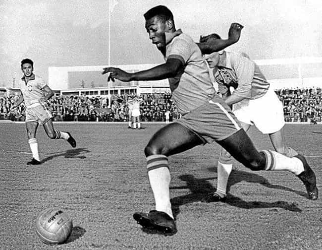 Pelé is listed (or ranked) 4 on the list Old Athletes You Didn't Realize Are Still Alive