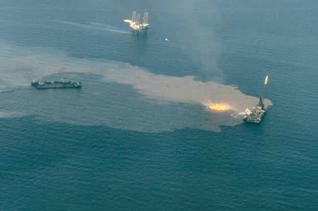 Pemex is listed (or ranked) 3 on the list Companies Responsible For The Biggest Oil Spills