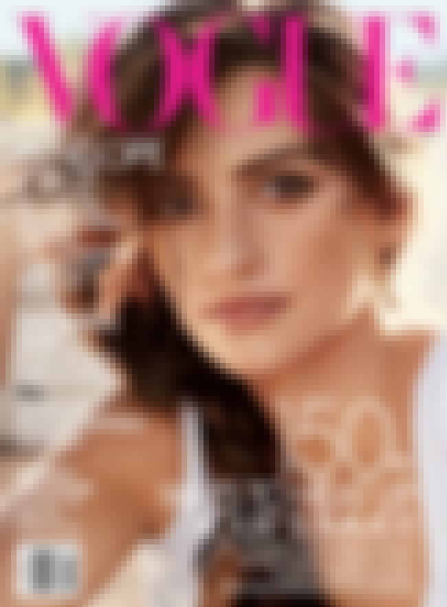 Penélope Cruz is listed (or ranked) 4 on the list The Best Vogue Magazine Covers