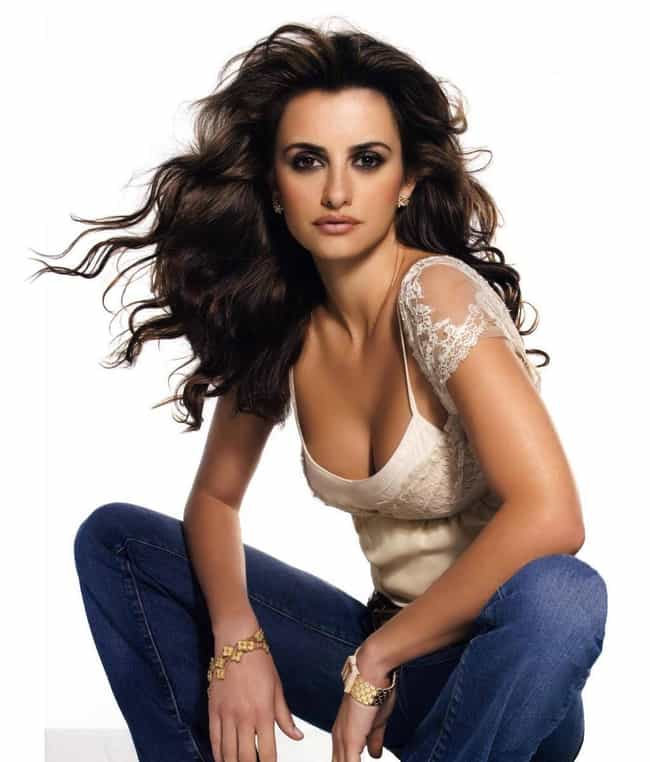 Penélope Cruz is listed (or ranked) 8 on the list The 100+ Hottest Women of the '90s