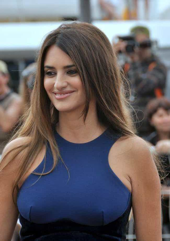 Penélope Cruz is listed (or ranked) 4 on the list The Most Beautiful Famous Brown-Eyed Girls
