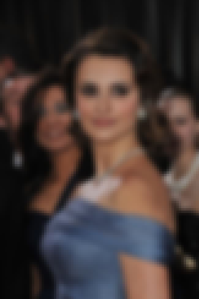Penélope Cruz is listed (or ranked) 4 on the list List of Famous Designers