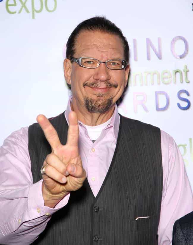 Penn Jillette is listed (or ranked) 2 on the list Famous Male Magicians