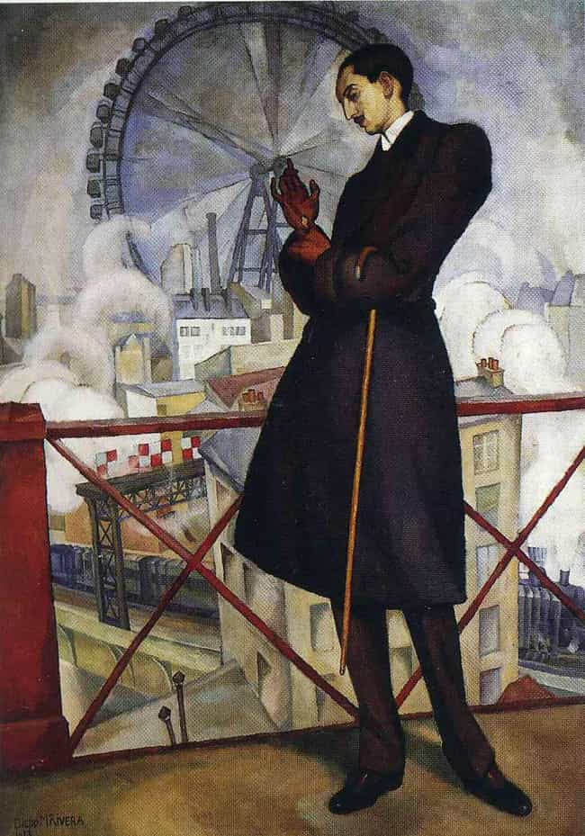 Retrato de Adolfo Best M... is listed (or ranked) 4 on the list Famous Diego Rivera Paintings