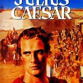 Julius Caesar is listed (or ranked) 10 on the list The Best Shakespeare Film Adaptations