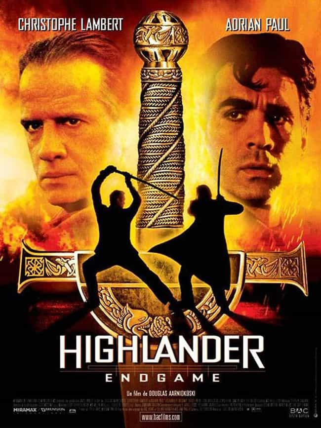 Highlander: Endgame is listed (or ranked) 3 on the list The Best Movies (and TV Series) in the 'Highlander' Franchise, Ranked